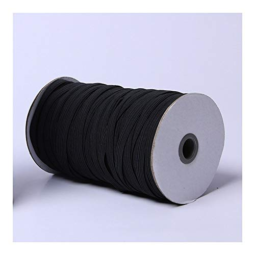Amazing Deal Wide Elastic Ribbon Spool Elastic Cord Sewing Band Flat Knitting Stretch Rope (Color : ...