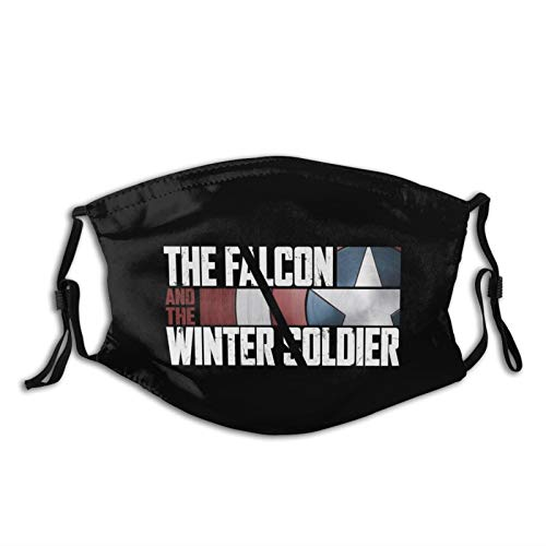 hodmadod Flacon and Winter Soldier Face Cover Bandana Head Wrap Scarf Neck Flacon and Winter Soldier Masks Balaclava