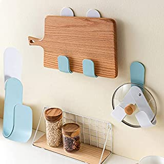xlpace Pots And Pans Organizer Pot Lid Holder Rotatably Adjustable Pan Cover Holder Wall Mounted Hook Tools Shelf Storage ...