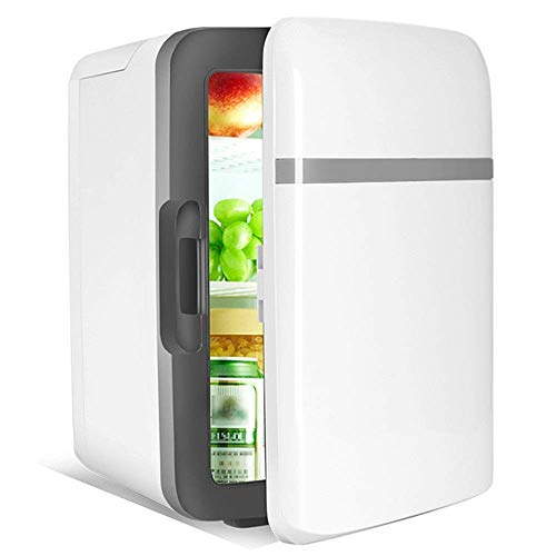 Mini Car Kühlschrank Mini-Kühlschrank Cooler und Warmer - for Haus, Büro, Auto, Dorm oder Boot - Compact Personal Kühlschrank Außen Caming Picknick Reise (Farbe: Schwarz, Größe: 32 * 25 * 24,5 cm) hsv