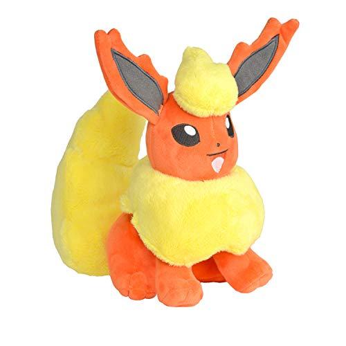 BOTI Pokemon Stofftier / Plüsch Figur: Flamara / Flareon 20 cm