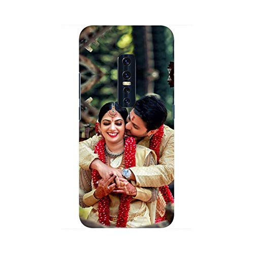 Fultu Fataang Customised Vivo V17 Pro Personalised Mobile Cover Phone case with Your Photo & Message Printed Customized Plastic Mobile Cover for Vivo V17 Pro