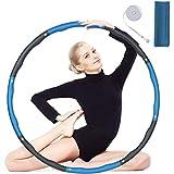 flintronic Hula Hoop, 8 Sections Cerceau de Fitness Amovible avec Mousse,...