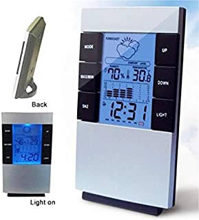 for Tang YI MING TL Household Digital LCD Display Hygrometer Thermometer Temperature Humidity Meter Clock Alarm Messgerät