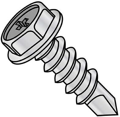 10-16X1 Phil Hex Washer Full Thread Credence Sale item Self Zinc Nickel Drill Screw