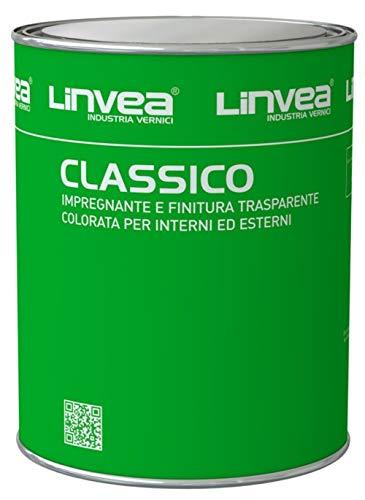 Impregnante finitura sintetica per legno CLASSICO da 0.750 Lt (EBANO 905)