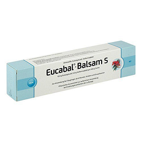 Eucabal Balsam S 50 ml by Aristo Pharma GmbH