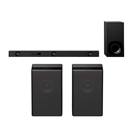 Sony HT-Z9F -3.1ch Dolby Atmos/DTS:X Soundbar with Wi-Fi/Bluetooth and Sony SA-Z9R - Rear Channel Speakers
