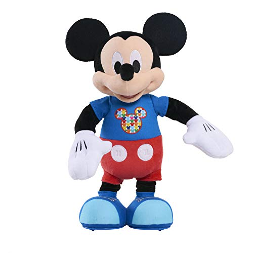 Mickey Hot Dog Dance Break Mickey Plush - Brown Mailer