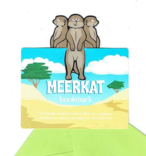 Safari Lesezeichen (Erdmännchen)