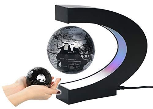 浮く地球儀 地球儀 宙に浮く 地球儀インテリア 地球儀オブジェ LEDライト 風水グッズ
