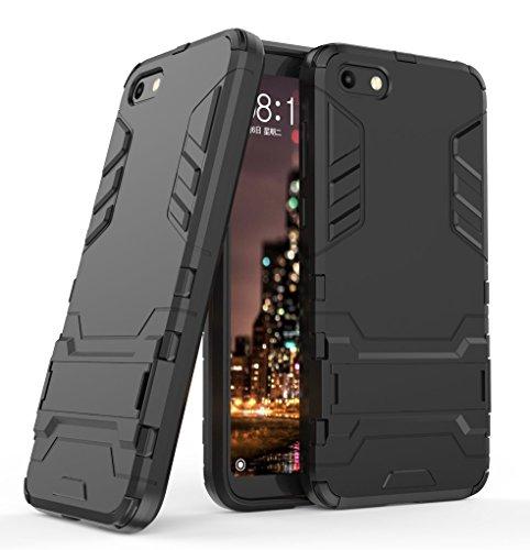 Huawei Y5 2018 / Y5 Prime 2018 / Honor 7S Case, FoneExpert Shockproof Rugged Impact Armor Slim Hybrid Kickstand Protective Cover Case for Huawei Y5 2018 / Y5 Prime 2018 / Honor 7S