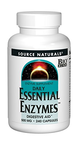 Source Naturals Essential Enzymes 500mg Bio-Aligned Multiple Enzyme Supplement Herbal Defense for...