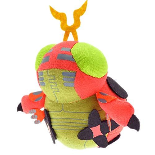 HHtoy 12cm Tentomon Plüschtier Digimon Tierkarikatur Puppe Anime Stuffed Puppet Weiche Kinder Kindergeburtstag Begleit
