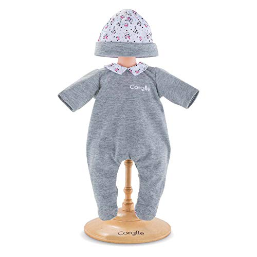 Corolle Mon Premier Poupon 12' Panda Party Pajamas Toy Baby Doll , Pink