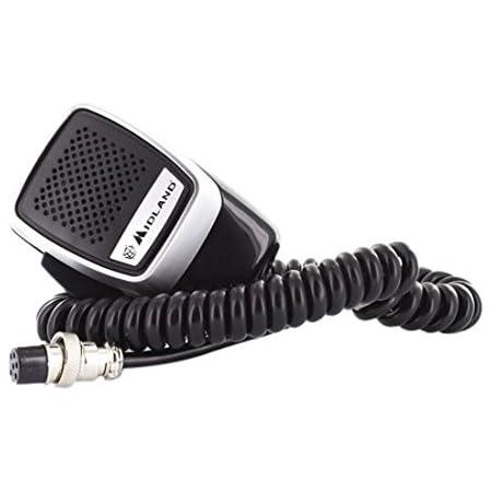 Midland Elektret 6 Pin Mikrofon Präzision Für Cb Radio Elektronik