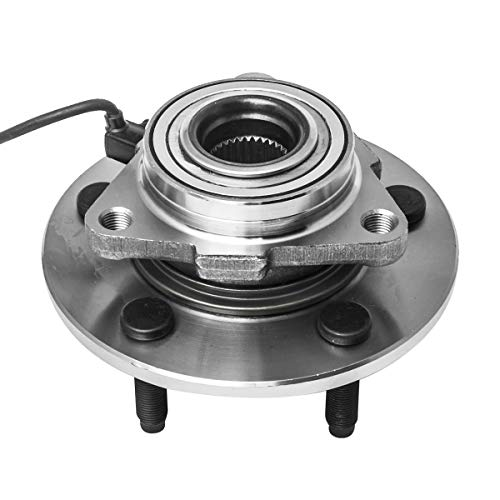 Front Wheel Hub and Bearing Assembly Left or Right Compatible 2002-2005 Dodge Ram 1500 AUQDD 515073 [ 5 Lug W/ABS 4WD 4x4 ]