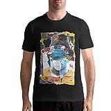 JTYHYRTUVE Men's Daily Gift Brockhampton Leisure Casual Cotton Short Sleeves T Shirt X-Large Black