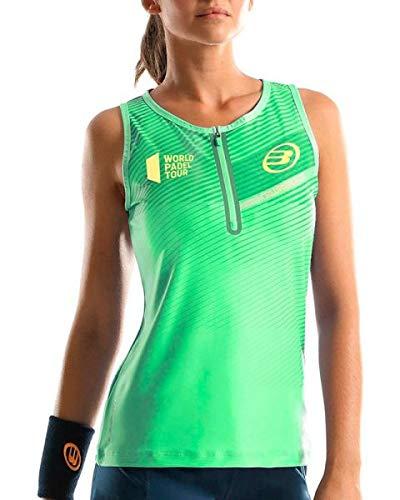 Bullpadel Damen Poloshirt Strick Neongrün