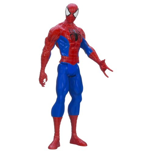 Marvel Ultimate Spider-man Titan Hero Series Spider-man Figure,...