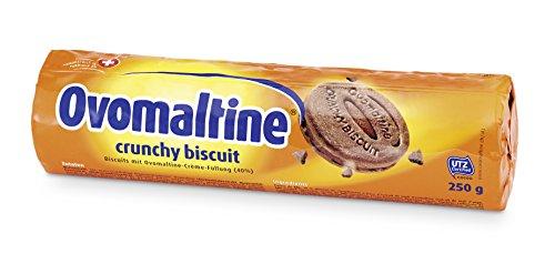 Ovomaltine Crunchy Biscuit, 4er Pack (4 x 250 g)