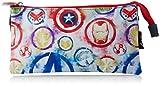 CERDÁ LIFE'S LITTLE MOMENTS - Estuche Triple Escolar de Avangers - Licencia Oficial de Marvel Studios, Multicolor, Infantil (CRD-2100003012)