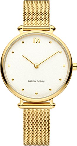 Danish Design Damen Analog Quarz Uhr mit Edelstahl Armband IV05Q1229