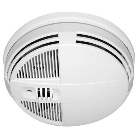 Spy-MAX Zone Shield Night Vision WiFi Smoke Detector Hidden Camera - Side View Live Streaming - Motion Activated Spy Gadget - Remote Viewing - SD Card Storage - Best Recorder Home Kids Nanny Office