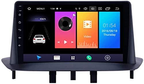 Android 9.1 autoradio per Renault Megane 3 2009-2014 9 pollici Dash Unità principale supporto per la navigazione GPS completa singolo car stereo RCA BT Specchio collegamento WiFi riproduz.