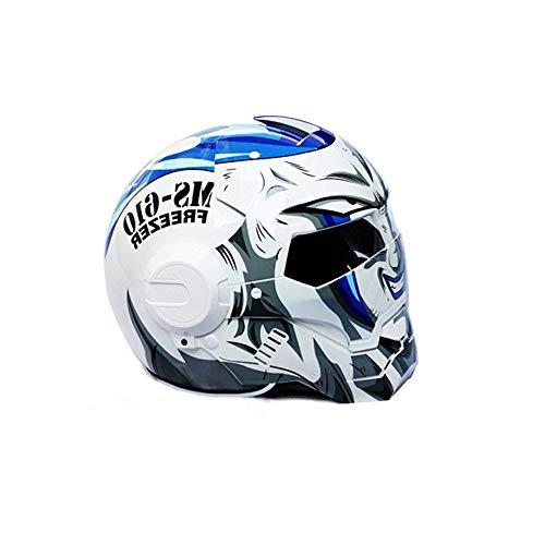 JeiKai Gumair Anime Inspired Motorcycle Helmet Adult Sport Helmet with DOT Certificate