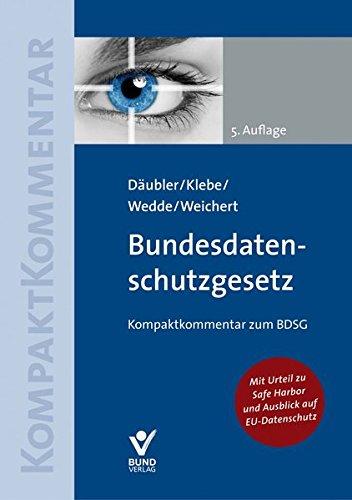 Bundesdatenschutzgesetz (Kompaktkommentar)