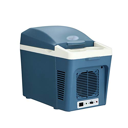 Refrigeradores de coche Eléctricos Nevera Portátil Congelador Mini Refrigerador Picnic al aire libre Bebida Helada Leche Materna Calentamiento 12V 7