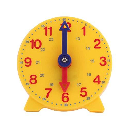 Toyvian - Reloj de mesa para aprender a enseñar (forma redonda)