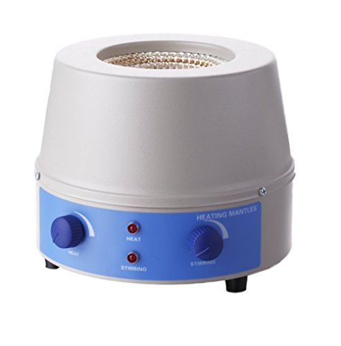 Read About BIPEE Analog Magnetic Stirrer Heating Mantle 1000ml, 0~1400rpm, 350W, Max 450℃(842℉),...