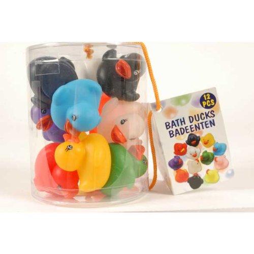 Lifetime Bath & Shower 92991 Paperelle Galleggianti Colorate per la Vasca da Bagno, 12 pezzi