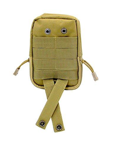 Shark armée tactique militaire Sac banane Pochette armée extérieur Gadget Mag Pochette de ceinture Sac de déploiement Mbb012