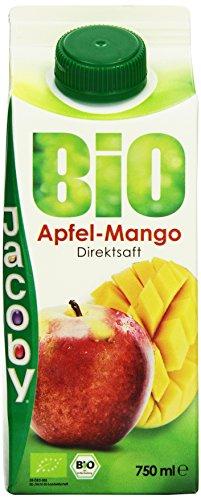 Jacoby Bio Apfel-Mangosaft, 8er Pack (8 x 750 ml)