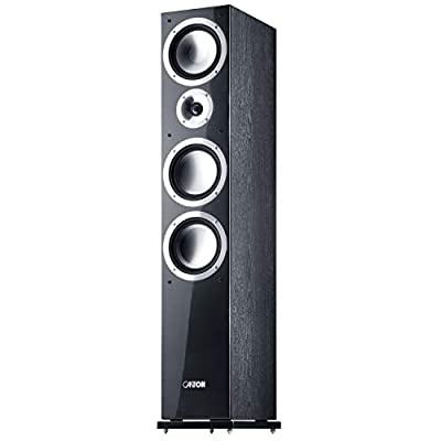 Canton Chrono 509 DC - Floorstanding Speakers - Black (Pack of 2) from Canton