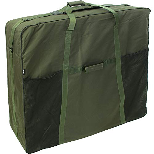 NGT Large Deluxe Padded Carp Fishing XL Bedchair Bag Chair Carry Holdall (589)