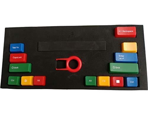 Feicuan 14 Tecla Function Keys Cap Cover Enter Shift Ctrl Reemplazo Keycap Universal para Teclado mecánico - Colorful B