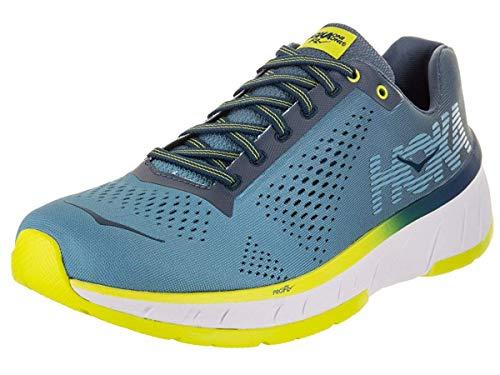 Price comparison product image HOKA ONE ONE Men's Cavu Sulphur Spring / Anthracite Running Shoe 10.5 Men US