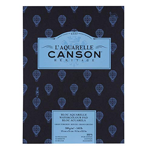 Canson Rough Heritage, White