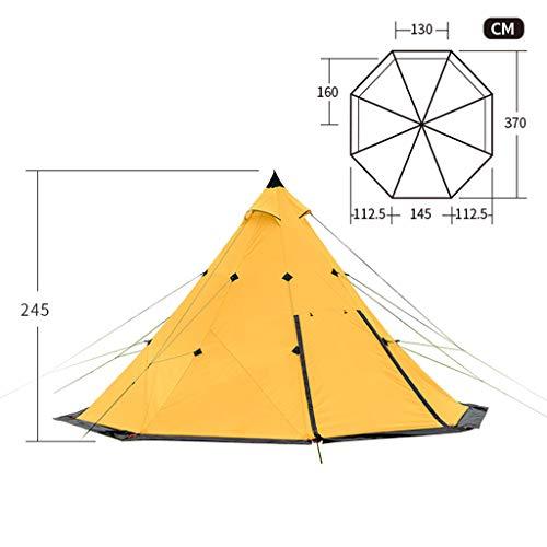 Bdclr Toren tent 3-4persoon, 4 personen outdoor grote tent luifel