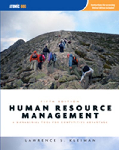 Human Resource Management: Managerial Tool for Competitive Advantage