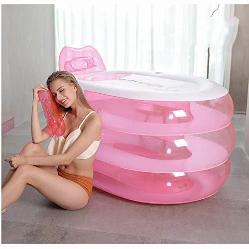 L&WB Adult Opblaasbaar bad, Opblaasbaar Draagbaar Opblaasbaar PVC Luchtbad, Gebruikt voor Badkamer SPA, Zwembad Etc. van kinderen, Inclusief de pomp