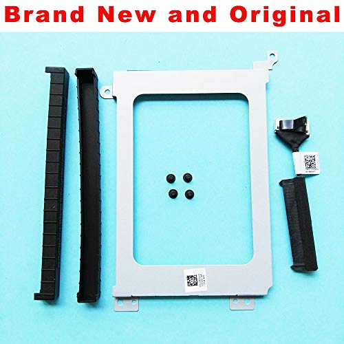 Connectors New for Dell Precision 5510 Xps15 9550 9560 HDD Cable Connector 0Xdygx Xdygx HDD Caddy Bracket 3Fdy3 03Fdy3 Shock Proof Rubber - (Cable Length A Set of All)