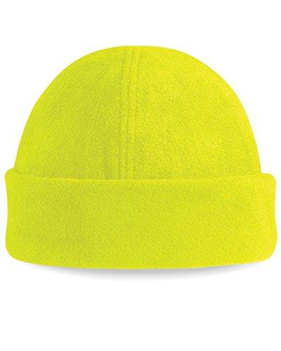 Beechfield B243 Bonnet de ski, supraf polaire Taille unique Gelb - Fluoreszierendes Gelb
