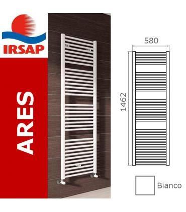 Irsap - Scaldasalviette bagno Irsap Ares, attacchi laterali - 150x60, Bianco