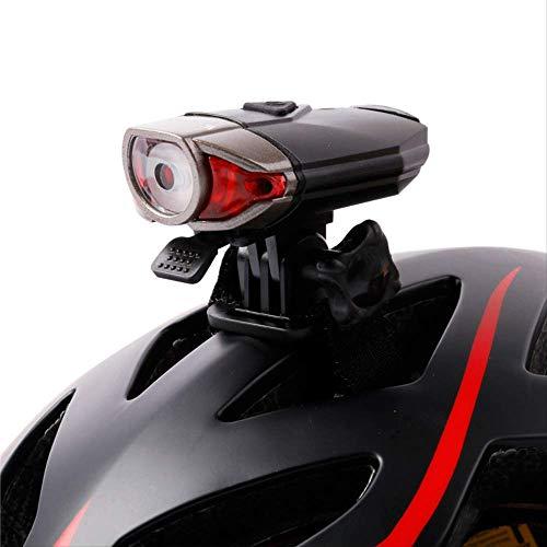 hhxiao LED Fahrradlicht Fahrrad Front Fahrrad Helm Licht Fahrrad Led Lenker Lampen Fahrrad Helm Sicherheit Taschenlampe