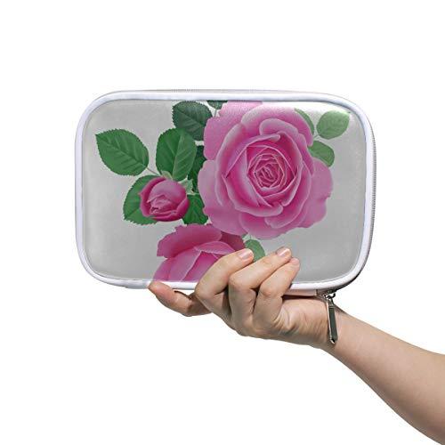 Petite Trousse De Maquillage Rêve Romantique Belle Rose Rose Trousse De Toilette Grands Sacs De Maquillage Pour Les Femmes Trousse De Toilette Multifonctionnelle Pour Hommes Femmes